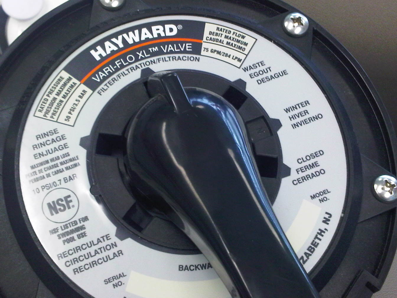 How do you use a Hayward sand filter?